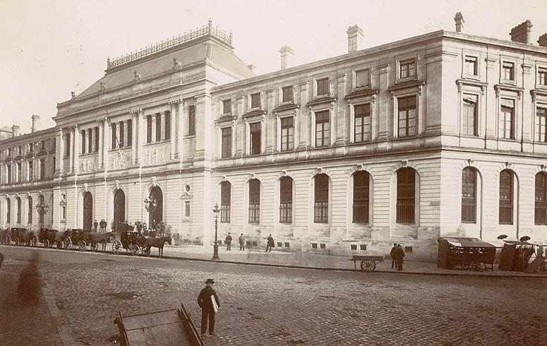Jules-Alphonse Terpereau, Faculté des sciences et des lettres de Bordeaux, vers 1886