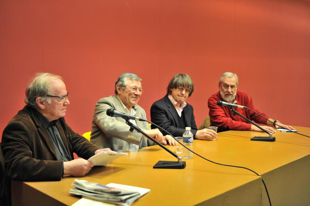 """Table ronde à l'occasion de l'exposition """"Iturria la vie comme elle va"""", 2012"""
