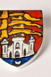 Plaque couleur vitrail armes Bordeaux en coffret, © L. Gauthier mairie de Bordeaux