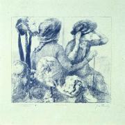 """En casa de la modista"", Quince litografías según Degas por G.W. Thornley"