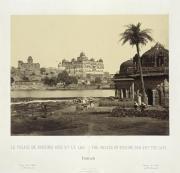 Image « Le Palais de Birsing Deo et le lac, Duthhia », 1867