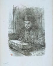 """""""Le Bon graveur (Adolphe Albert)"""" ou """"Le Lithographe"""", Henri de Toulouse-Lautrec (1864-1901)"""