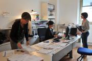 Administration. Photo L. Gauthier mairie de Bordeaux