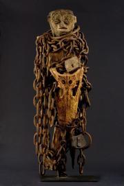 Photo d'un fétiche fon du Bénin