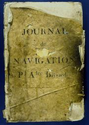 Journal de bord du navire Le Patriote, photo J.-M.Arnaud, mairie de Bordeaux