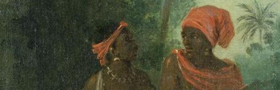 Portrait de Caraïbes noirs à Saint-Vincent par Brunias