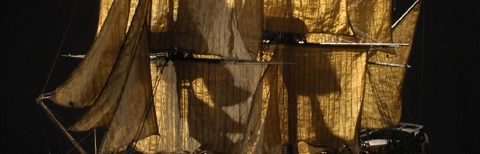 """Maqueta de """"El Conquistador"""". Foto L. Gauthier, ayuntamiento de Burdeos"""