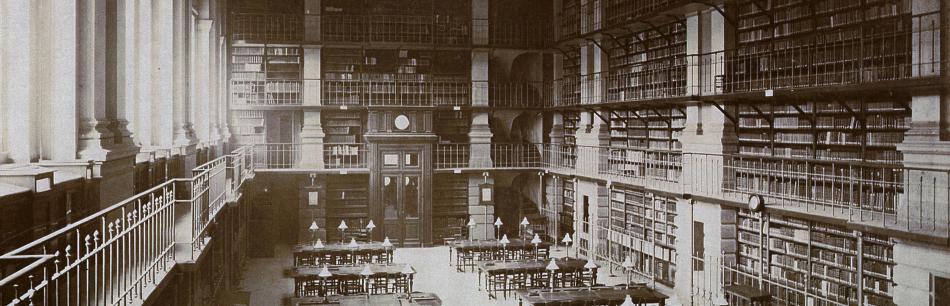 Jules-Alphonse Terpereau, la bibliothèque de la Faculté de Bordeaux