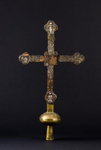 Croix de procession, ©photo C. Batac mairie de Bordeaux