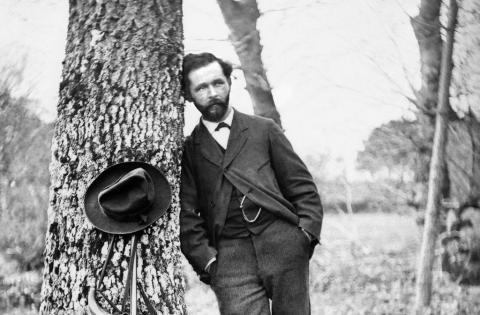 Félix Arnaudin, autoportrait vers 1876