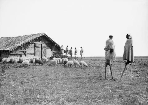 Bergers à Giscos, 1898