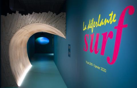 La déferlante surf, photo Lysiane Gauthier, mairie de Bordeaux