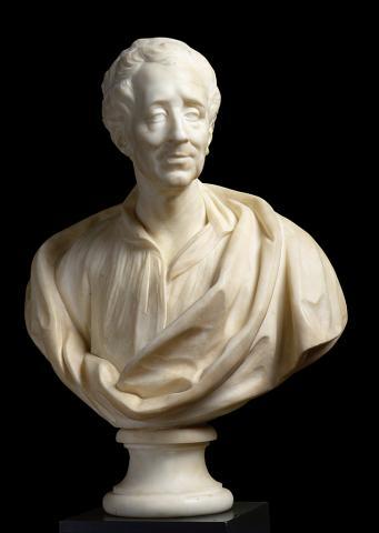 Buste de Montesquieu, réplique de 1878, photo B. Fontanel, mairie de Bordeaux