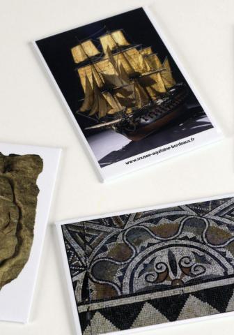 Magnets collections du musée, © L. Gauthier mairie de Bordeaux