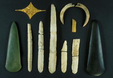 Le « trésor » de Pauilhac, Gers. - 3 500 av. J.-C. environ
