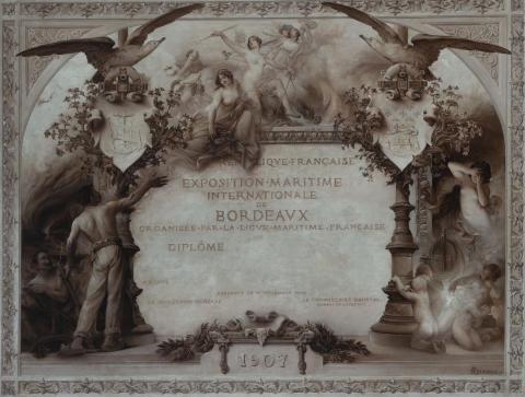 Huile sur toile, Paul Quinsac (1858-1929)