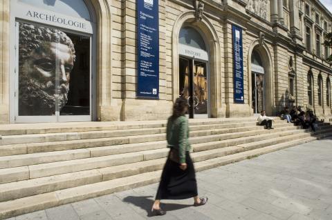 Vue extérieure du musée d'Aquitaine - photo Lysiane Gauthier