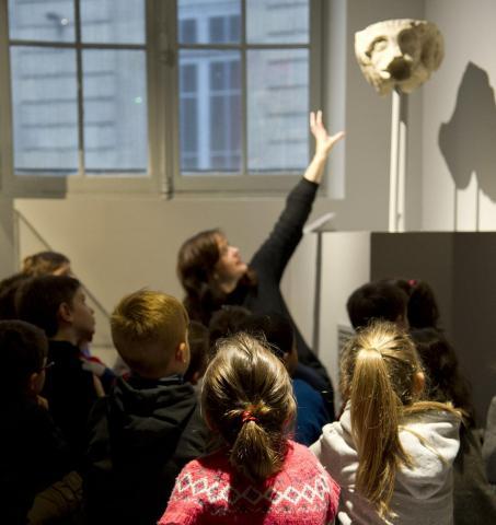 Visite enfants © L. Gauthier, mairie de Bordeaux