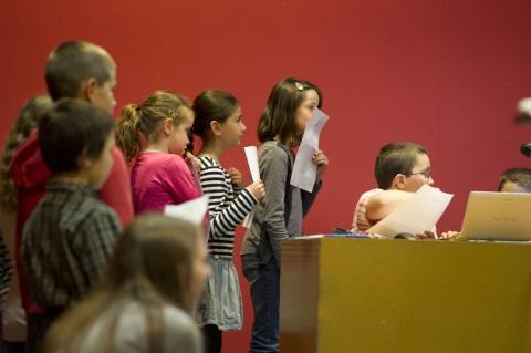 Colloque des enfants 2013. Photo L. Gauthier mairie de Bordeaux