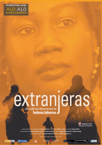 affiche du film Extranjeras de Helena Taberna
