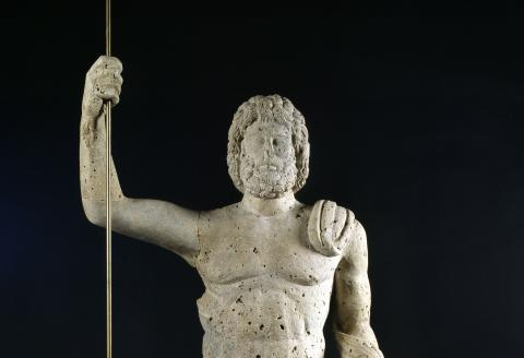Statue de Jupiter, coll. musée d'Aquitaine