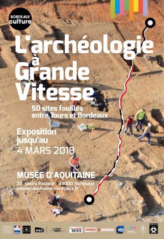 Vue aérienne du site les Sablons, Luxé, Charente, © Thierry Duquenoix Archéosphère. Mairie de Bordeaux/Direction de la communication