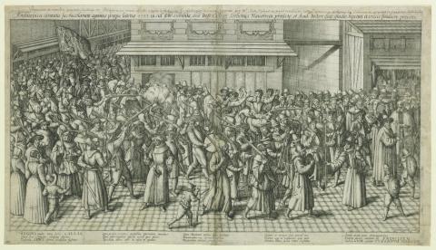 Cornelisz Dankerts & Petrus Koerius, La Procession de la Ligue
