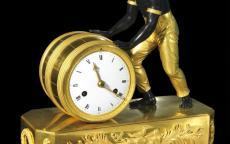 Pendule « au nègre », modèle de Jean-André Reiche, ©photo L. Gauthier, mairie de Bordeaux