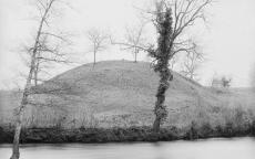 Arjuzanx, motte du moulin et tour 21 novembre 1901