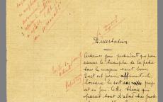 Dissertation de Jean Moulin © mairie de Bordeaux, centre Jean Moulin