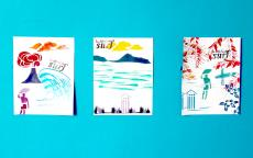 """Atelier """"couleurs surf"""" - dans le cadre de l'exposition """"la déferlante surf"""" - photo Lucie Revellin"""