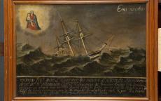 Ex-voto de marine. Photo L. Gauthier mairie de Bordeaux
