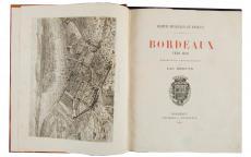 Bordeaux vers 1450, description topographique, ©photo L. Gauthier mairie de Bordeaux