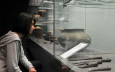Sala de proto historia. Foto L. Gauthier ayuntamiento de Burdeos