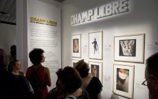 """Vernissage exposition """"Champ libre"""" © F. Deval, mairie de Bordeaux"""