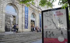 Façade du musée d'Aquitaine