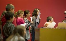 Colloque des enfants, Musée d'Aquitaine, Photo L.Gauthier Mairie de Bordeaux