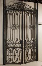 Grille, porte de vestibule, de l'hôtel particulier de la Molère à Bordeaux, musée d'Aquitaine, © L. Gauthier, mairie de Bordeaux