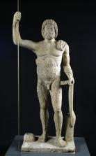 Statue de Jupiter. 3e quart du Ier siècle après J.-C. Calcaire. Photo mairie de Bordeaux