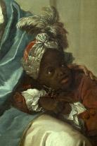 Pierre Subleras, Portrait présumé de la princesse de Fontenelle et de son négrillon, photo P. Deval, mairie de Bordeaux