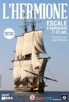 Stopover of the Hermione in Bordeaux - Conference to the museum of Aquitaine
