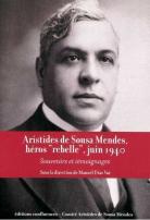 A. de Sousa Mendes (1885-1954) illustration couverture du livre de Manuel Dias Vaz