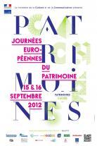Affiche des journées du patrimoine 2012