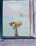 La fenêtre à la goulette, Albert Marquet, 1926