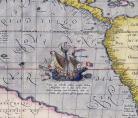 A.Ortelius, Maris Pacifici, détail