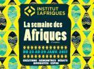 Affiche Semaine des Afriques