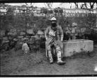 Un combattant de Verdun au repos, mars 1916. Photo Agence Meurisse. Coll. BnF.