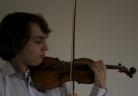 François Pineau au violon